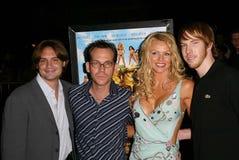 Gary Preisler, Nikki Ziering, Chris Owen Stock Image