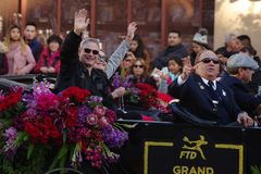 Gary Sinise Grand Marshal photos stock