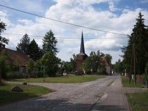 Garz-Ortskern Στοκ φωτογραφία με δικαίωμα ελεύθερης χρήσης