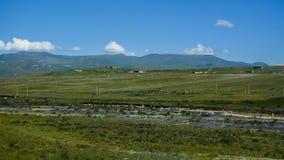 Garze藏语山风景  免版税库存照片