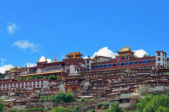 Garze Monastery Royalty Free Stock Photos