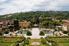 Garzoni Garden. In tuscany, Italy Royalty Free Stock Photography