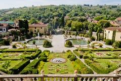 garzoni Tuscany willa Fotografia Royalty Free
