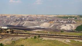 Garzweiler open cast mining, germany. Garzweiler open cast mining lignite, germany stock photo