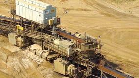 Garzweiler open cast mining, germany. Garzweiler open cast mining lignite, germany royalty free stock photo