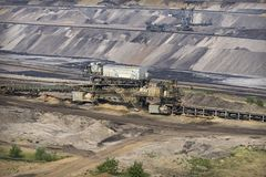 Garzweiler open cast mining germany. Garzweiler open cast mining lignite, germany stock images