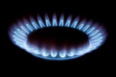 gas Arkivfoto