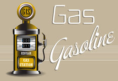 Gas Royalty Free Stock Photo