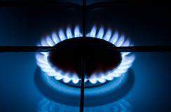 Gas ardiente Imagen de archivo libre de regalías