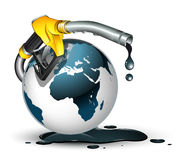Gas Around The World Concept Royalty Free Stock Photo