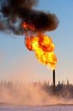 Gas-Aufflackern Lizenzfreies Stockbild