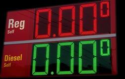 Gas barato Imagen de archivo libre de regalías
