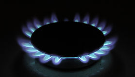 Gas blaze Royalty Free Stock Image