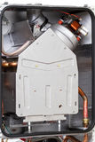 Gas boiler with a closed combustion chamber Stock Photos