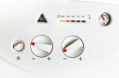Gas boiler Royalty Free Stock Photography