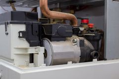 Gas boiler equipment stock images