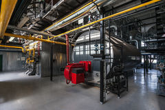 Gas boilers Royalty Free Stock Photos