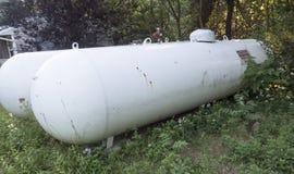 Gas in bottiglia Immagine Stock Libera da Diritti