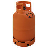 Gas Bottle Royalty Free Stock Photography