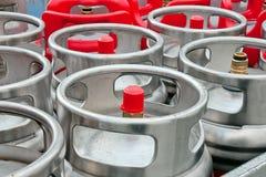 Gas Bottles royalty free stock image
