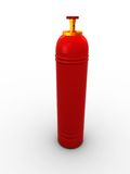 Gas bulb Stock Photo