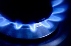 Gas Burner. A gas Burner burning away Royalty Free Stock Photos
