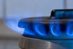 Gas burner Royalty Free Stock Image