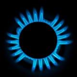 Gas burner royalty free stock photos