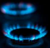 Gas burner Stock Images