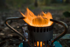 A gas burner. Stock Images