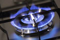 Gas burner Royalty Free Stock Photo