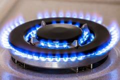 Gas burner Stock Image