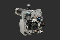 Gas burner. Stock Photography