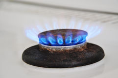 Gas burner, home energy Royalty Free Stock Photography
