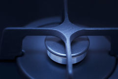 Gas burner turned off Royalty Free Stock Images