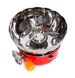 Gas burner on a white background Royalty Free Stock Photography