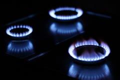 Gas burners Royalty Free Stock Photo