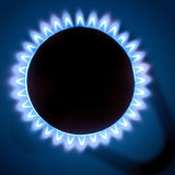 Gas burners Royalty Free Stock Photos