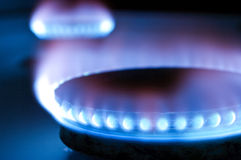 Gas burners Royalty Free Stock Photography