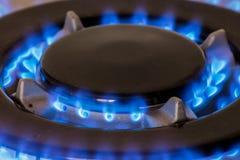 Gas burners Stock Photography