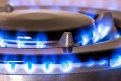 Gas burners Stock Photos