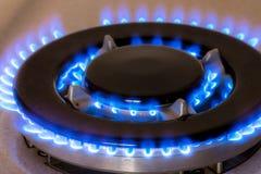 Gas burners Stock Image