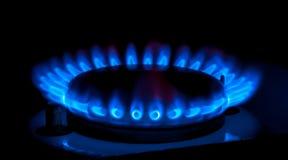 Gas burners Royalty Free Stock Photos