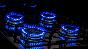 Gas Burners Stock Images