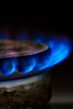 Gas burning Stock Photos