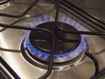 Gas Burning Fotografie Stock Libere da Diritti