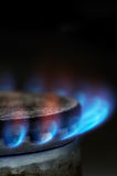 Gas burning Stock Photo