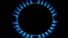 Gas burning Royalty Free Stock Photography