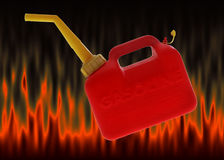 Gas can Royalty Free Stock Photo