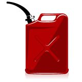 Gas can. Fuel container or gas can Royalty Free Stock Images